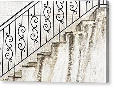 Steps Canvas Print by Tom Gowanlock