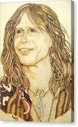 Canvas Print - Steven Tyler by Roger Storey