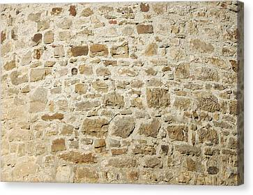 Stone Wall Canvas Print by Matthias Hauser