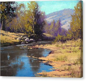 Summer River Canvas Print by Graham Gercken