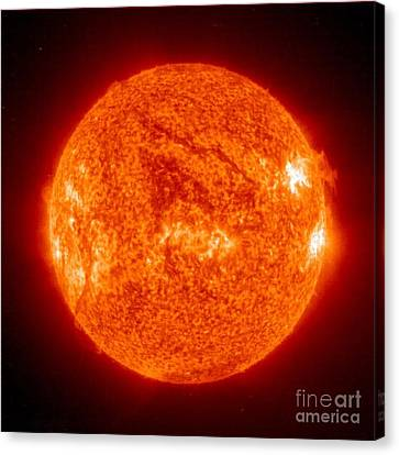 Sun Canvas Print by Science Source