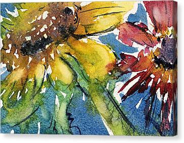 Sunflower Canvas Print by Judith Levins