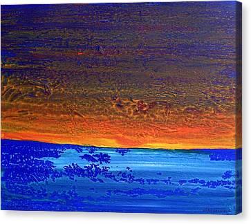 Sunset 2012 Canvas Print