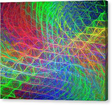 Supersymmetry Conceptual Artwork Canvas Print