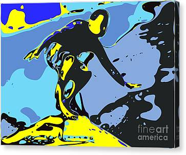 Surfer Canvas Print by Chris Butler