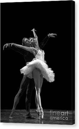 Swan Lake  White Adagio  Russia 3 Canvas Print