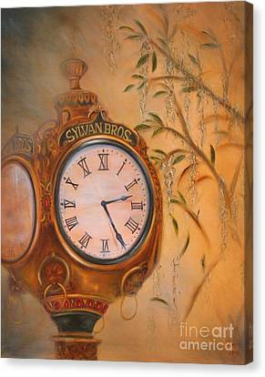 Sylvan's Clock Canvas Print