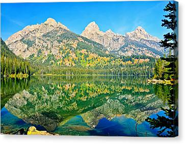 Taggart Lake Canvas Print by Greg Norrell