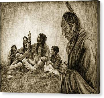 Tales Passed On Canvas Print by Erich Grant