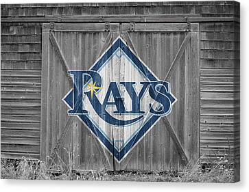 Tampa Bay Rays Canvas Print by Joe Hamilton