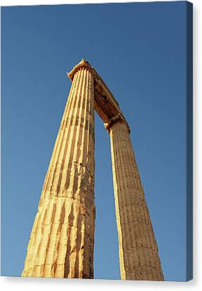 Temple Of Apollo Canvas Print