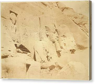 Temple Of Ramses II Canvas Print by British Library