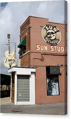 Memphis Recordings Canvas Print - Tennessee, Memphis by Cindy Miller Hopkins