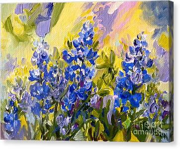 Texas Our Texas Canvas Print by Patsy Walton
