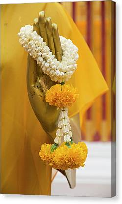 Thailand, Chiang Mai Province, Wat Phra Canvas Print by Emily Wilson
