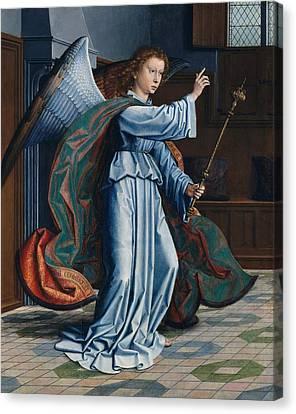 The Annunciation Canvas Print by Gerard David