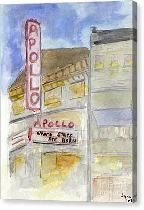 The Apollo Theatre Canvas Print
