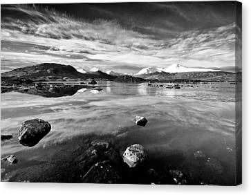 The Black Mount Canvas Print by Stephen Taylor