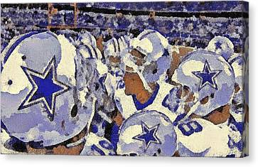 The Boys Canvas Print by Carrie OBrien Sibley