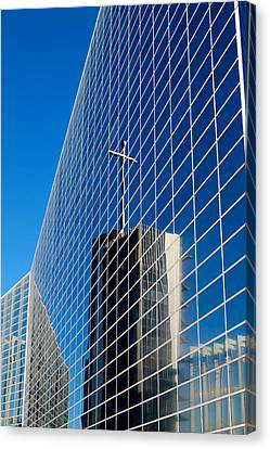 Canvas Print featuring the photograph The Crystal Cathedral by Duncan Selby