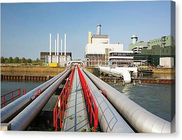 The Diemen Combined Heat And Power Plant Canvas Print