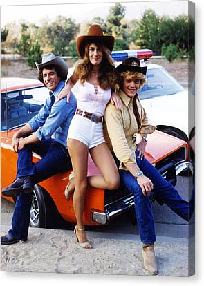 The Dukes Of Hazzard  Canvas Print by Silver Screen