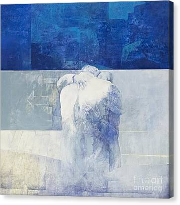 Pedro Canvas Print - The Embrace By Pedro Cano by Roberto Morgenthaler