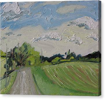 The Gravel Road Canvas Print by Francois Fournier