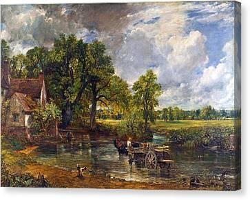 The Hay Wain Canvas Print by John Constable