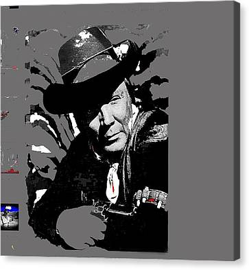 The High Chaparral Cameron Mitchell Publicity Photo Number 2 Canvas Print