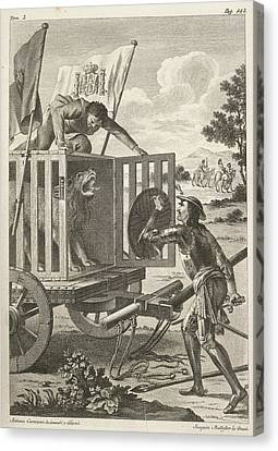 The History Of Don Quixote Canvas Print by British Library