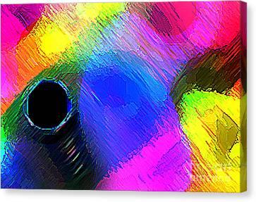 Interior Decoration In Full Color  Canvas Print by Mario Perez