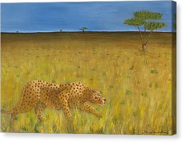 The Hunt Canvas Print by Tim Townsend