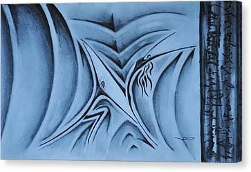 The Lift Canvas Print by Matthew Blum