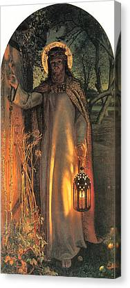 The Light Of The World Canvas Print by William Holman Hunt
