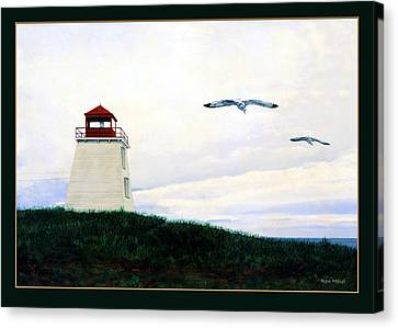 The Lighthouse Canvas Print by Ron Haist