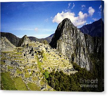 The Lost City Canvas Print by Suzanne Luft