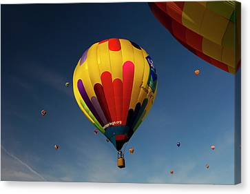 The Mass Ascension At The Albuquerque Canvas Print