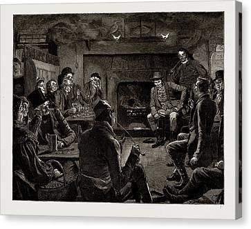 The Mayor Of Casterbridge, Drawn By Robert Barnes Canvas Print by Litz Collection