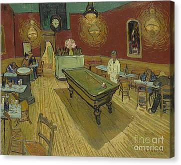 The Night Cafe Canvas Print by Vincent Van Gogh