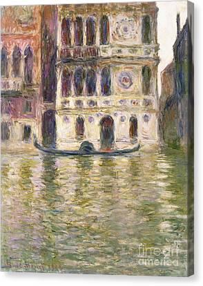 The Palazzo Dario Canvas Print