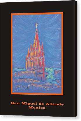 The Parroquia Canvas Print by Marcia Meade