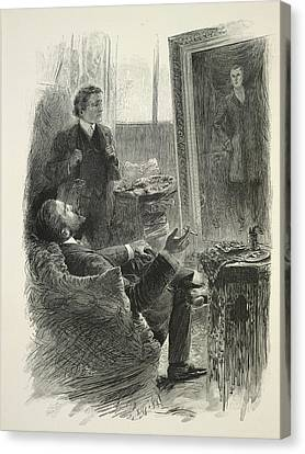 The Picture Of Dorian Gray Canvas Print by British Library