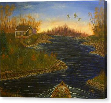 The Return Canvas Print by David Bentley