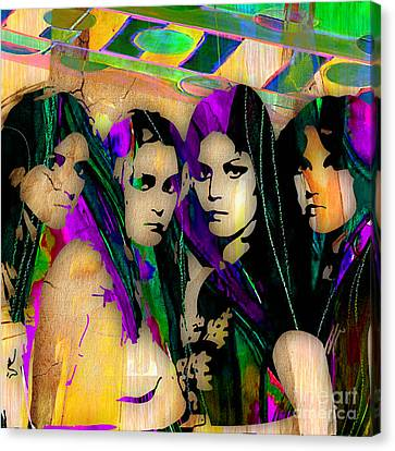 The Runaways Collection Canvas Print by Marvin Blaine