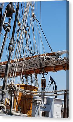 Canvas Print featuring the photograph The Sail by Ramona Whiteaker