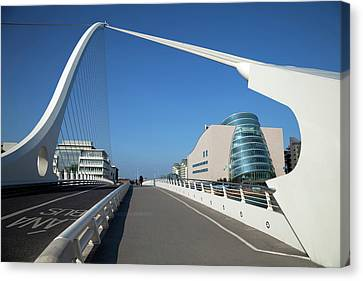 The Samual Beckett Bridge Canvas Print by Panoramic Images