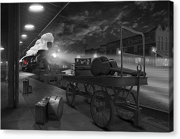 The Horse Canvas Print - The Station by Mike McGlothlen