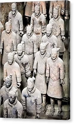 The Terracotta Army Canvas Print