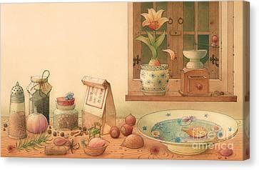 Thumbelina01 Canvas Print by Kestutis Kasparavicius